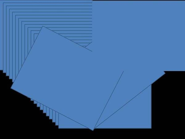 Blue Art Print by Edith Womack
