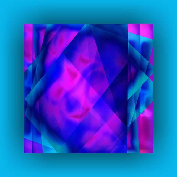 Wall Art - Digital Art - Blue Fashion by Mihaela Stancu