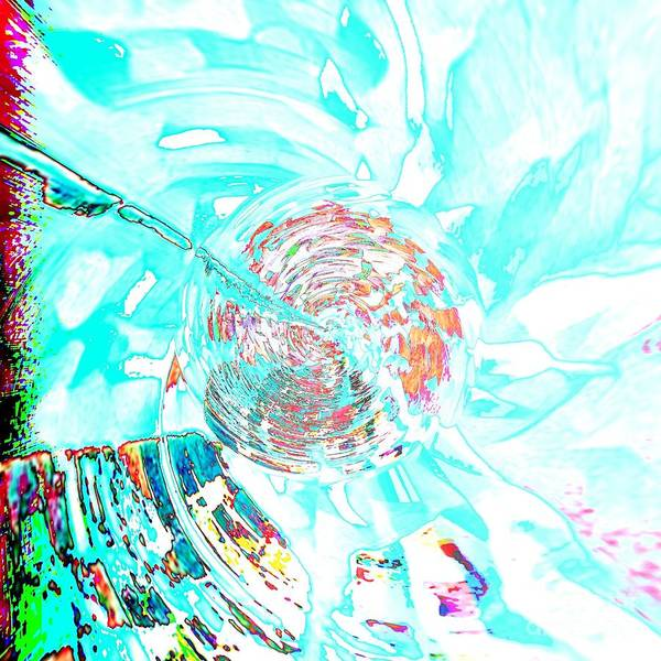 Mixed Media - Blue Flower by Jessica Eli