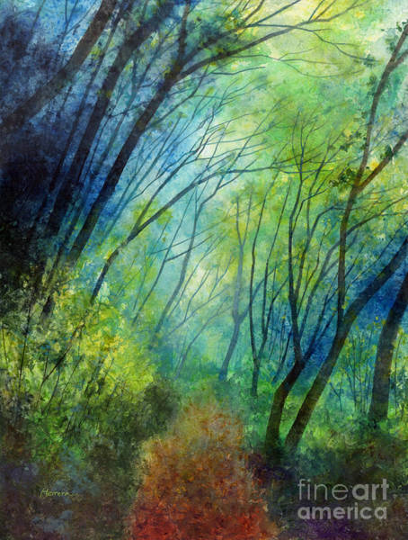 Painting - Blue Fog by Hailey E Herrera