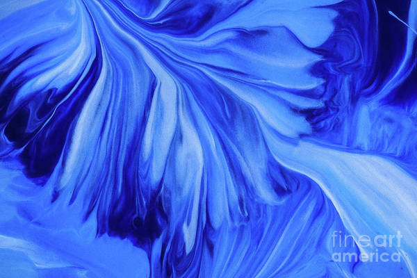 Painting - Blue For One by Patti Schulze