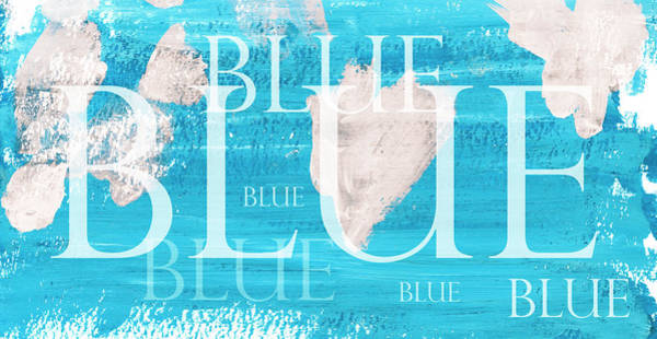 Wall Art - Painting - Blue by Frank Tschakert
