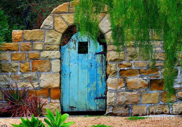 Gate Wall Art - Photograph - Blue Gate by Bill Keiran