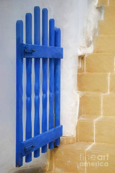 Wall Art - Photograph - Blue Gate by HD Connelly