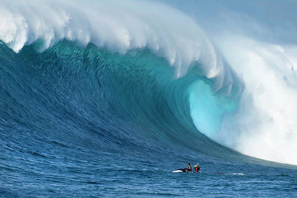 Crashing Waves Photograph - Blue Giant by Sean Davey