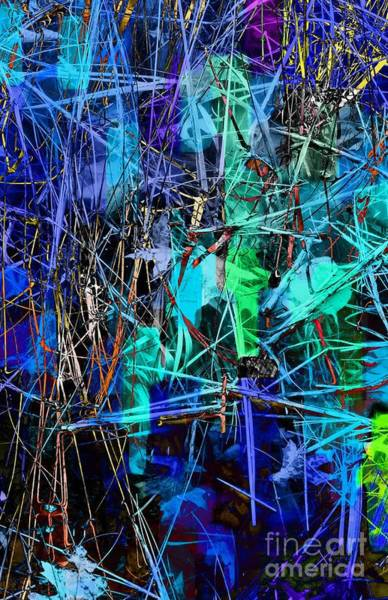 Photograph - Blue Grass by Marcia Lee Jones