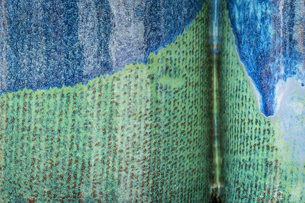 Photograph - Blue/green Abstract by David Waldrop
