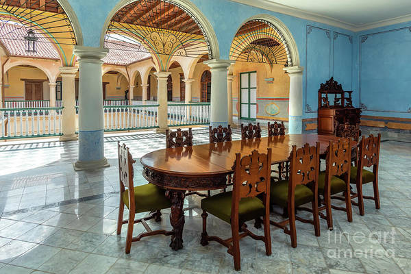 Chest Of Drawers Photograph - Interior Of The Museum In Old Havana, Cuba by Viktor Birkus
