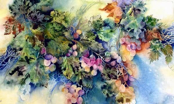 Blue Harvest Art Print