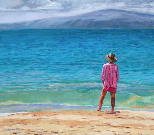 Painting -  Blue Hawaii by Mary Giacomini