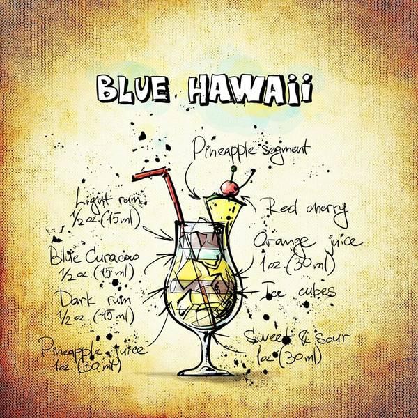 Digital Art - Blue Hawaii by Movie Poster Prints