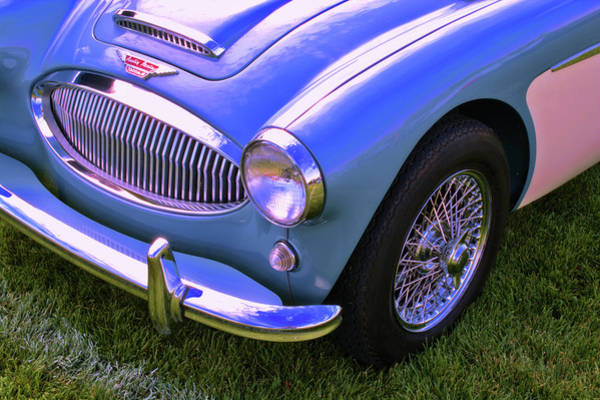 Photograph - Blue Healey by David King
