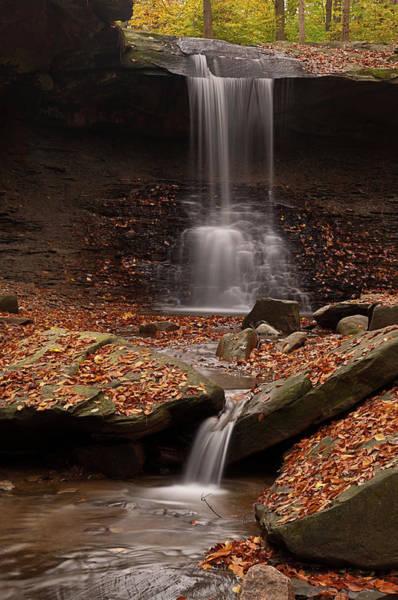 Photograph - Blue Hen Falls And Cascade by TM Schultze