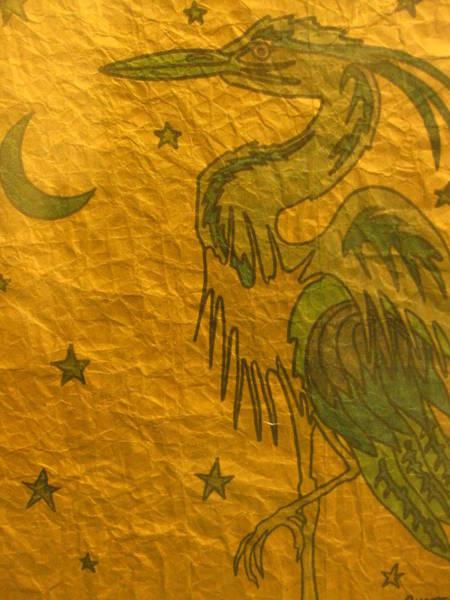 Stream Mixed Media - Blue Heron by Austen Brauker