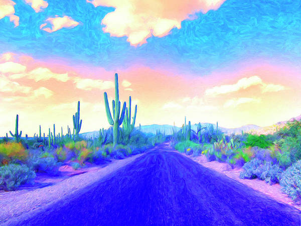 Painting - Blue Highway 6 by Dominic Piperata