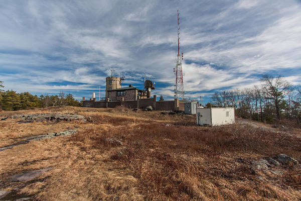 Photograph - Blue Hill Weather Observatory by Brian MacLean