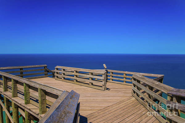 Photograph - Blue Horizon On Nine by Rachel Cohen
