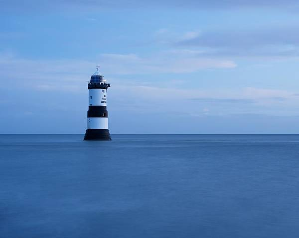 Photograph - Blue Hour At Penmon by Stephen Taylor