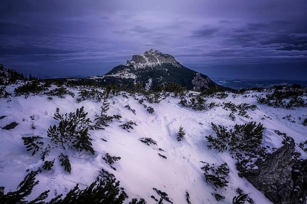 Wall Art - Photograph - Blue Hour At Toaca Peak by Adrian Malanca