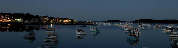 Photograph - Blue Hour Boats In Maine by Kyle Lee