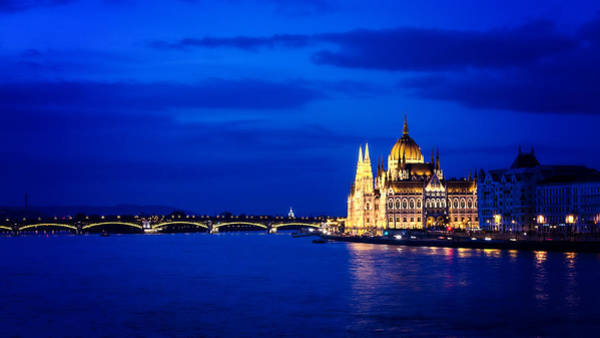 Wall Art - Photograph - Blue Hour Budapest by Heather Applegate