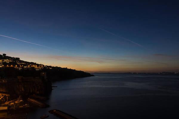 Photograph - Blue Hour In Sorrento Italy by Georgia Mizuleva