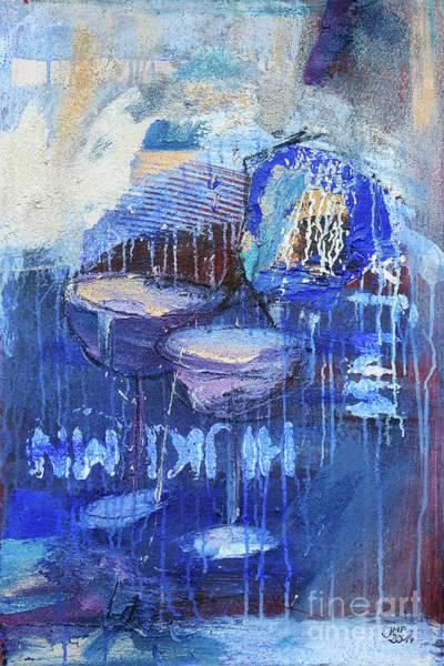 Wall Art - Painting - Blue Hour by Jutta Maria Pusl
