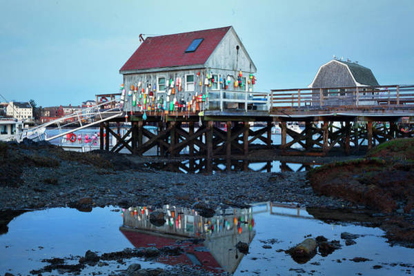 Wall Art - Photograph - Blue Hour On Badgers Island by Eric Gendron