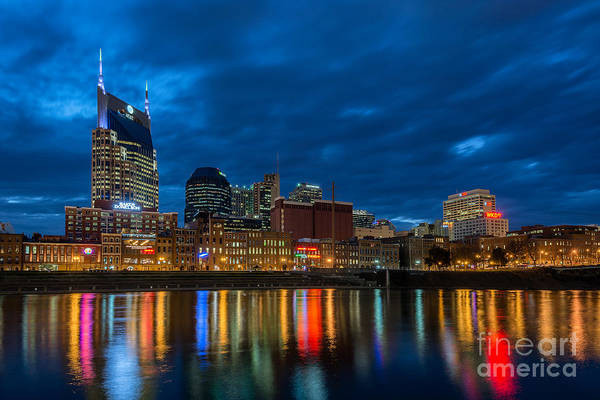Wall Art - Photograph - Blue Hour Reflections by Anthony Heflin
