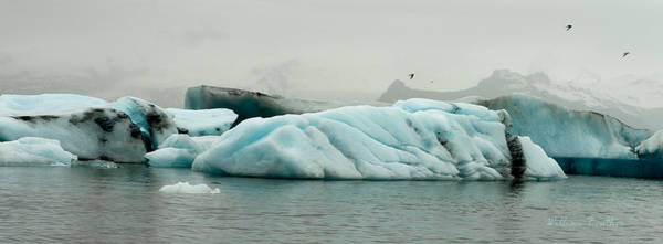 Photograph - Blue Ice IIi by William Beuther