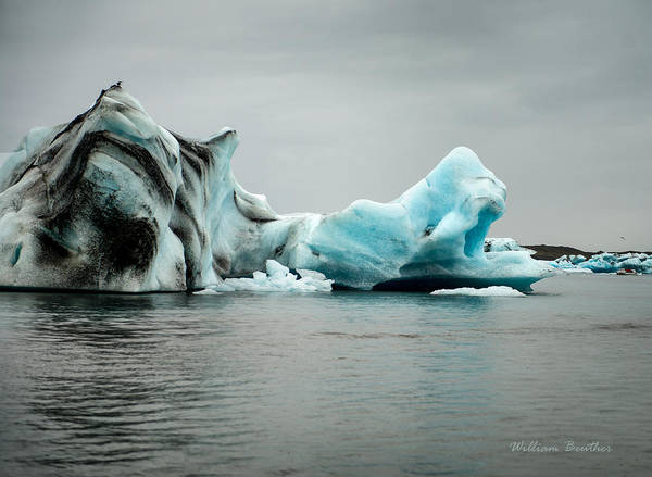 Photograph - Blue Ice by William Beuther