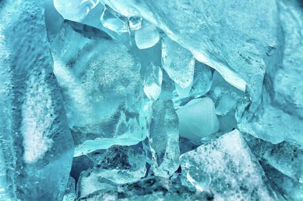 Wall Art - Photograph - Blue Ice by Winnie Chrzanowski