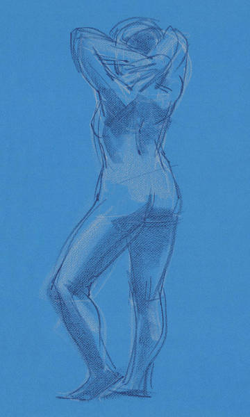 Painting - Blue by Judith Kunzle