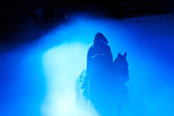 Photograph - Blue Knight by Louis Dallara