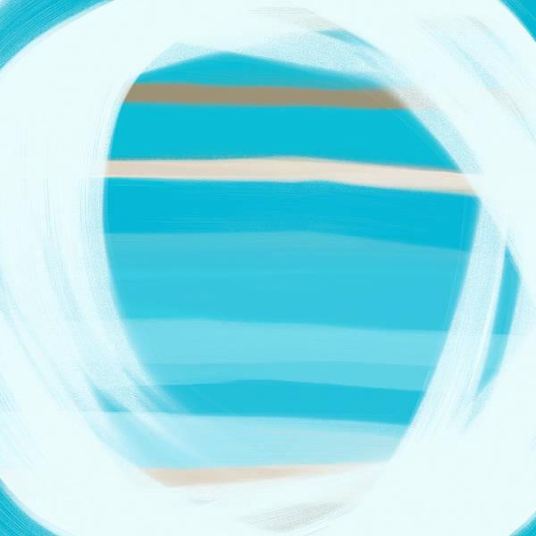 Wall Art - Painting - Blue Lagoon by Frank Tschakert
