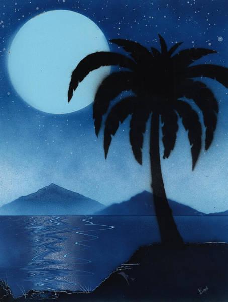 Painting - Blue Lagoon by Jason Girard