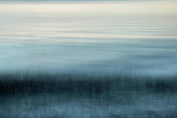 Marsh Grass Photograph - Blue Marsh Morning by Nicole Robinson