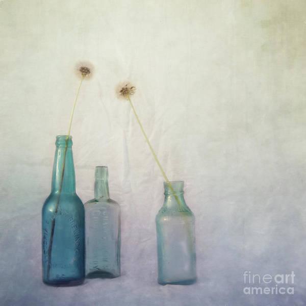 Wall Art - Photograph - Blue Memories by Priska Wettstein
