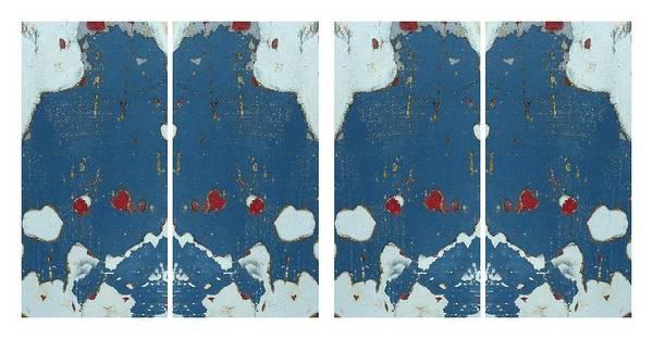 Digital Art - Blue Montage by Patricia Strand