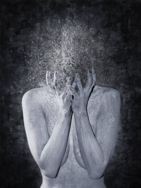 Wall Art - Photograph - Blue Mood I by Victor Slepushkin