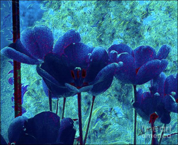 Digital Art - Blue Mood by Lance Sheridan-Peel