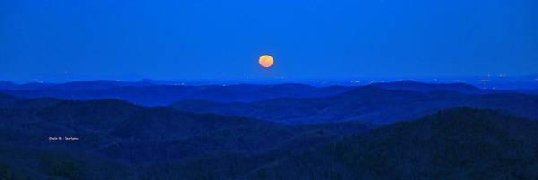 Photograph - Blue Moon Rising by Dale R Carlson
