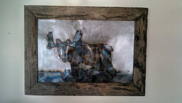 Moose Mixed Media (Page #2 of 3) | Fine Art America