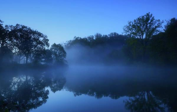 Photograph - Blue Morning by Angie Tirado