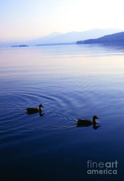 Photograph - Blue Morning Lake George by Thomas R Fletcher