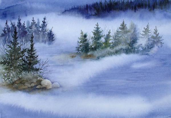 Painting - Blue Morning by Pamela Lee