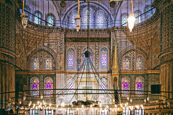 Blue Mosque Of Istanbul Art Print