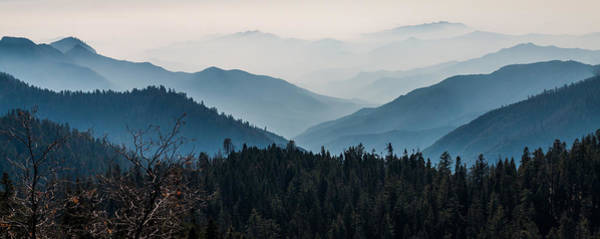 Photograph - Blue Mountain Pano by Patti Deters