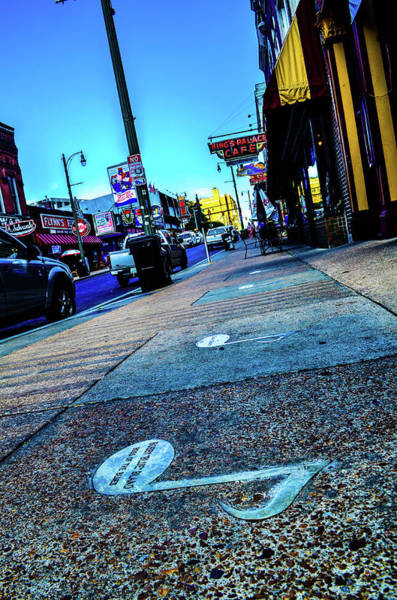 Photograph - Blue Notes On Beale by D Justin Johns