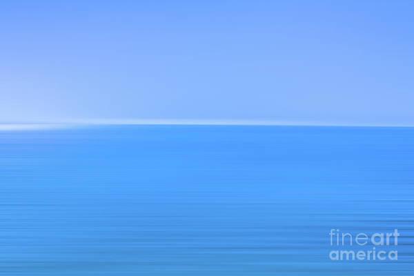Wall Art - Digital Art - Blue Ocean Blur by Randy Steele